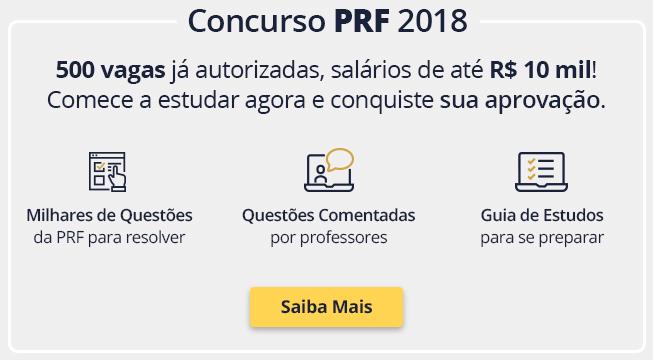 Concurso PRF 2018