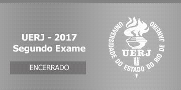 Imagem para o Concurso UERJ - 2017 - Vestibular - Segundo Exame