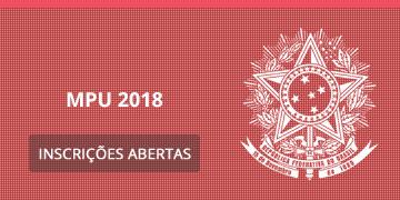 Imagem para o Concurso MPU - 2018