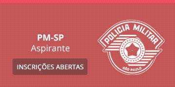 Imagem para o Concurso PM-SP - 2019 - Aspirante