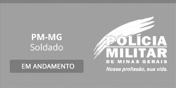 Imagem para o Concurso PM-MG - 2019 - Soldado
