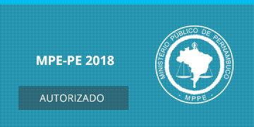 Imagem para o Concurso MPE-PE - 2018